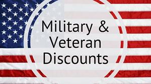 Military Veteran Discounts